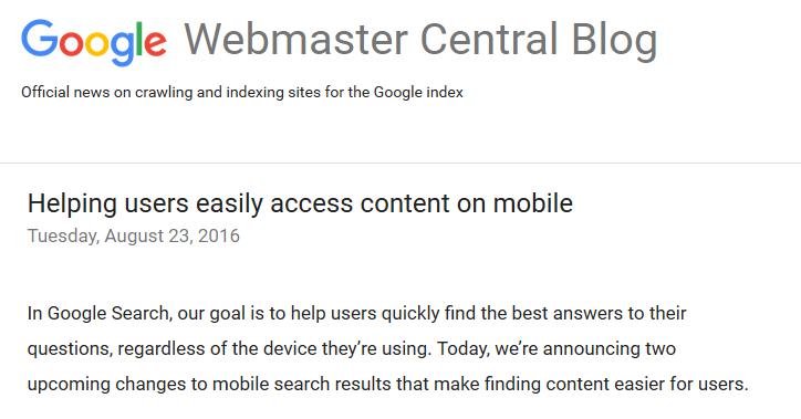 """Google usunie etykietę """"Na smartfony"""" oraz wprowadzi nowy czynnik rankingowy w mobilnych wyszukiwaniach"""